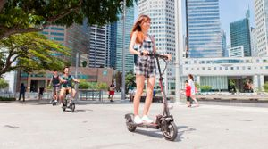 Kick scooters in Singapore