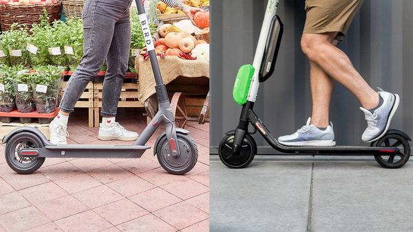 Top 5 most successful companies of electric kick scooter ride-sharing services