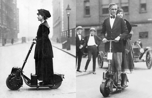 The History of the Electric Scooters